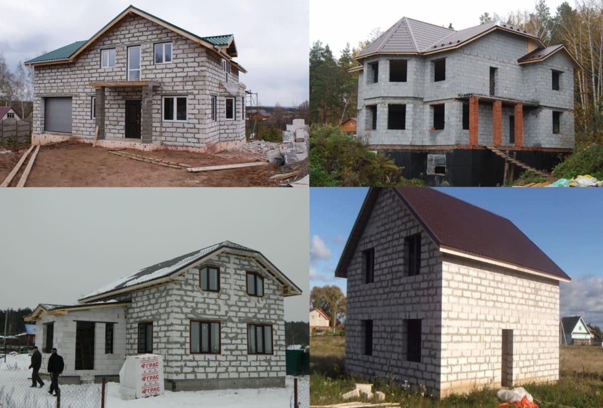 строительство домов из пеноблока уфа