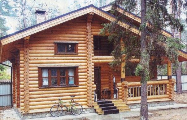 бревенчатый дом в уфе